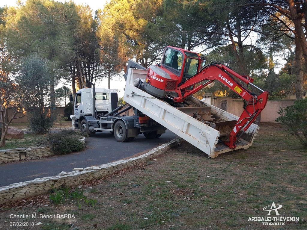 Installation fosse septique compacte dans l'Hérault (34)